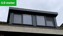 Prijsvoorbeeld dakkapel 4,0 meter