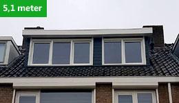 Prijsvoorbeeld dakkapel 5,1 meter