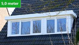 Prijsvoorbeeld dakkapel 5,0 meter