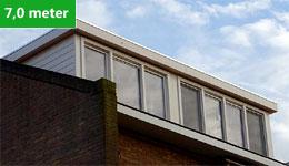 Prijsvoorbeeld dakkapel 7,0 meter